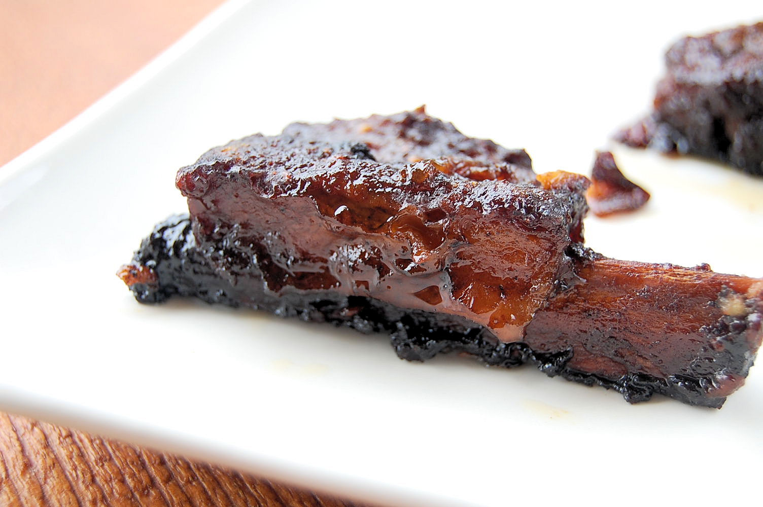 Sweet-and-Sour Balsamic-Glazed Spareribs Recipe — Dishmaps
