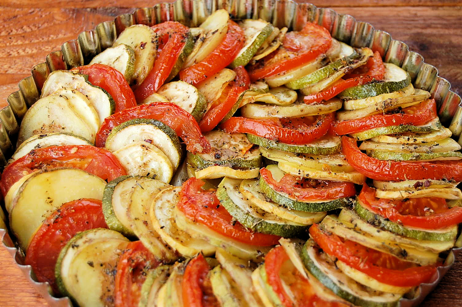 Colorful Vegetable Tian – Kitchen Belleicious