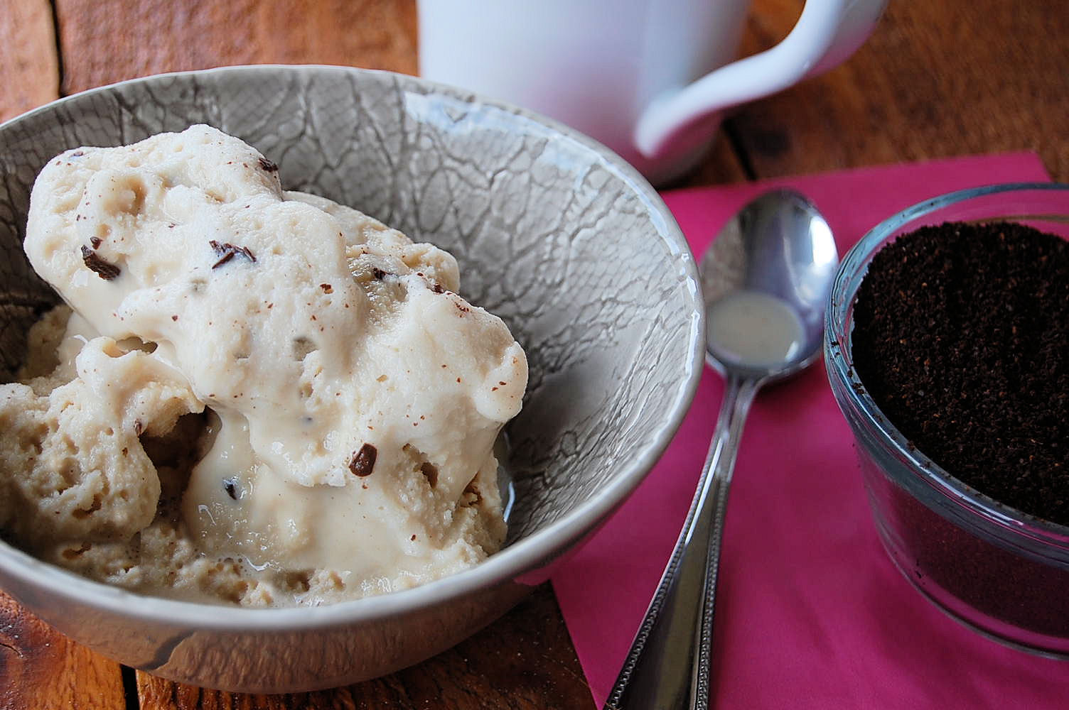 Coffee and Chocolate Ice Cream- The easiest ice cream you will ever ...