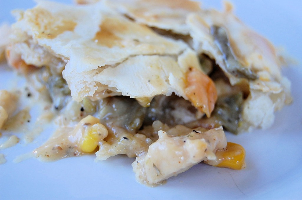 Chicken Pot Pie+Cream Cheese Pie Crust