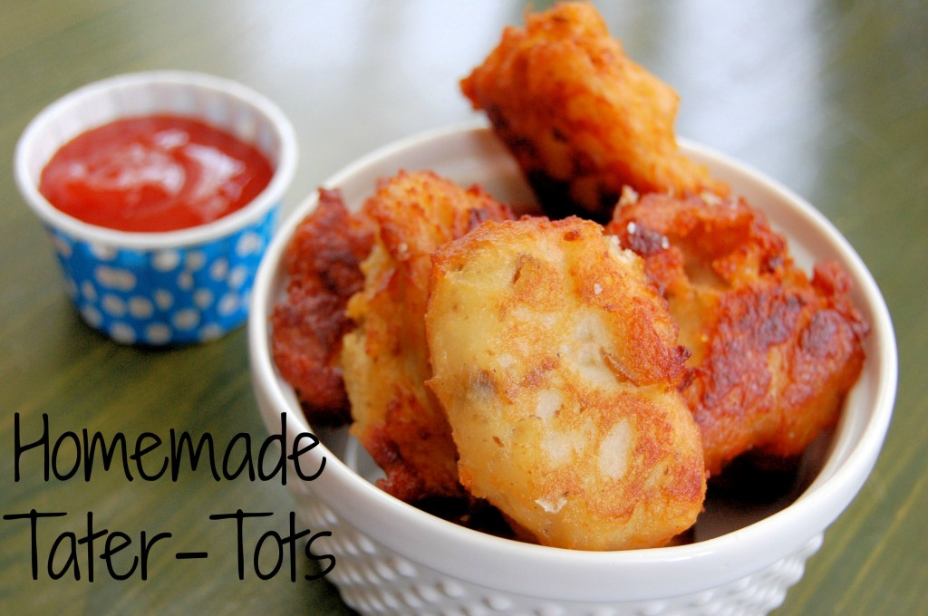 Homemade Tater-Tots (yes you can do it) – Kitchen Belleicious